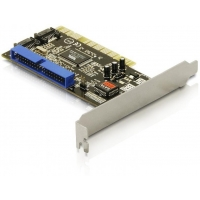 PCI Card Delock 2x SATA int + 1x IDE 40Pin int