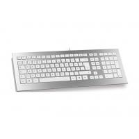 Tas CHERRY STRAIT Corded Keyboard weiß/silber