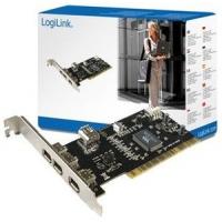 Schnittstelle PCI LogiLink IEEE1394 4x