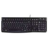 Tas Logitech Keyboard K120 for business USB black